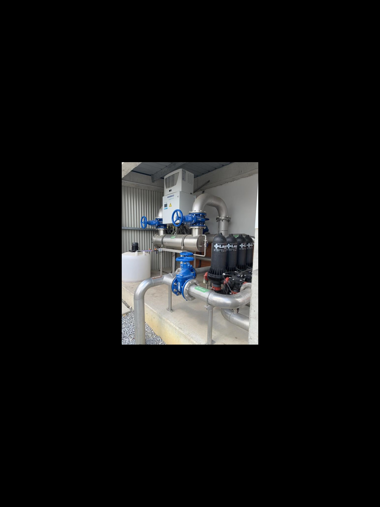 AVK products installed in ETAR Campo 2