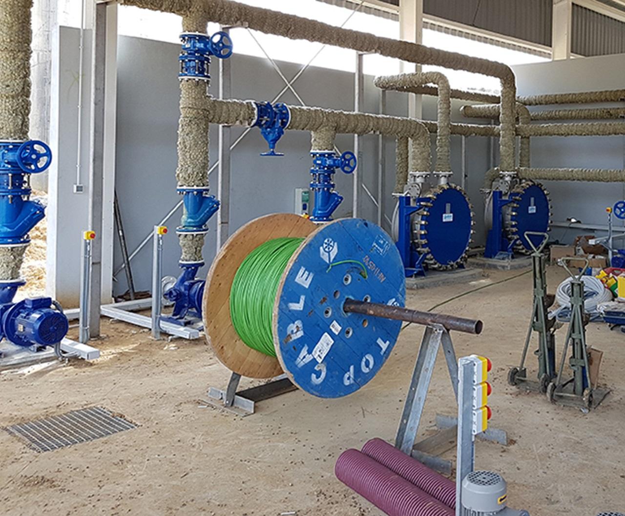 Planta tratamiento aguas residuales OZAMA 2